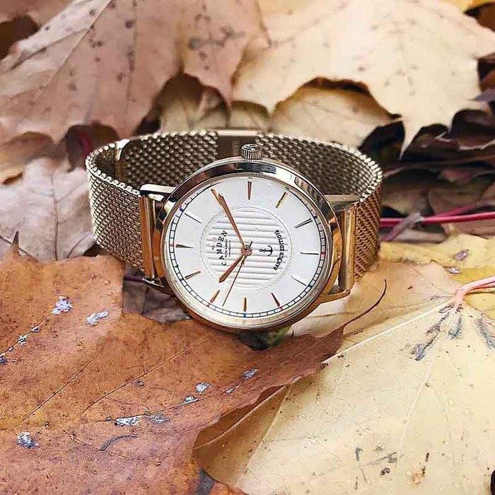 Camden Watch  英國倫敦知名理髮師Frank Rimer跨界合作聯名限量腕錶