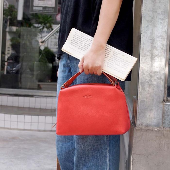 BAGGY PORT|日系輕熟女 優美側背/手拿兩用包