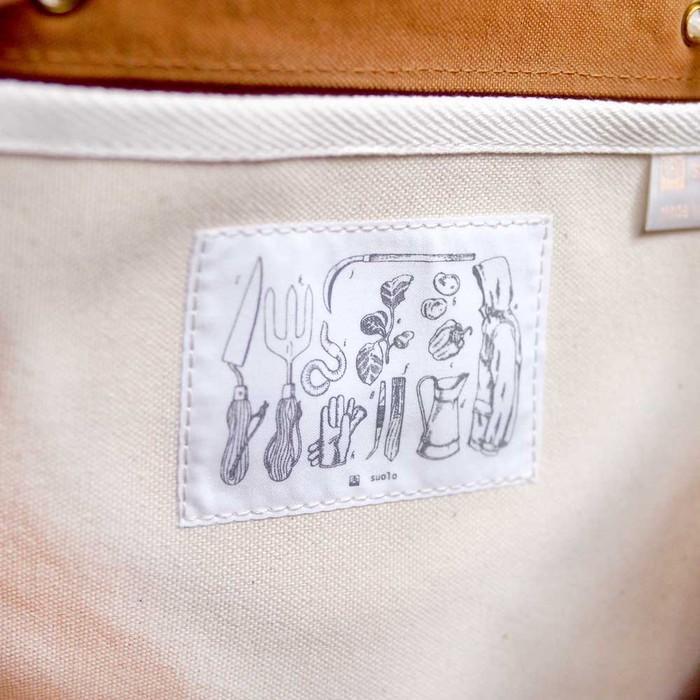 SUOLO|日系中性 休閒石蠟水洗帆布後背包