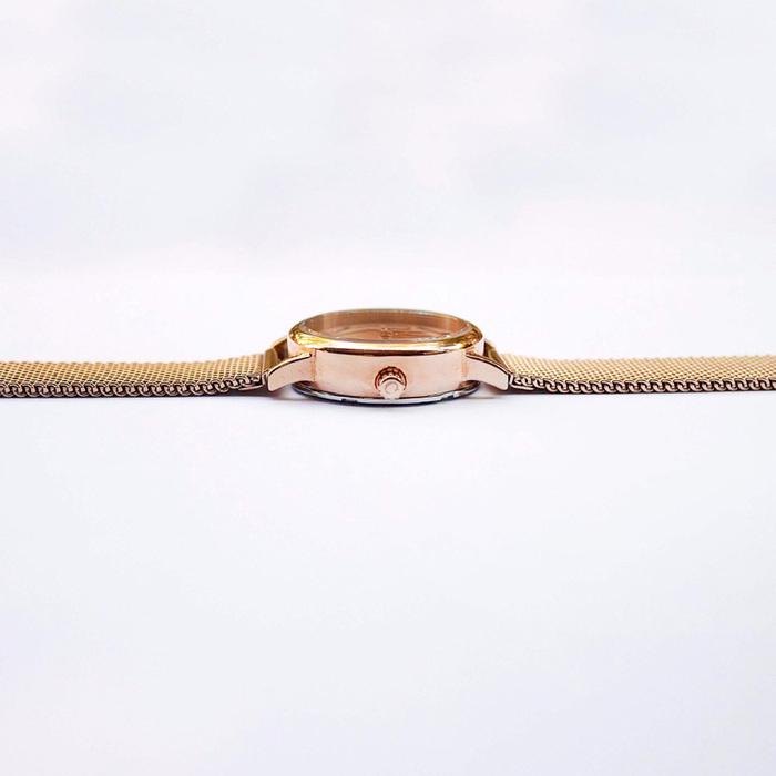 Camden Watch|NO24系列 純英國血統  經典時尚玫瑰金屬腕錶