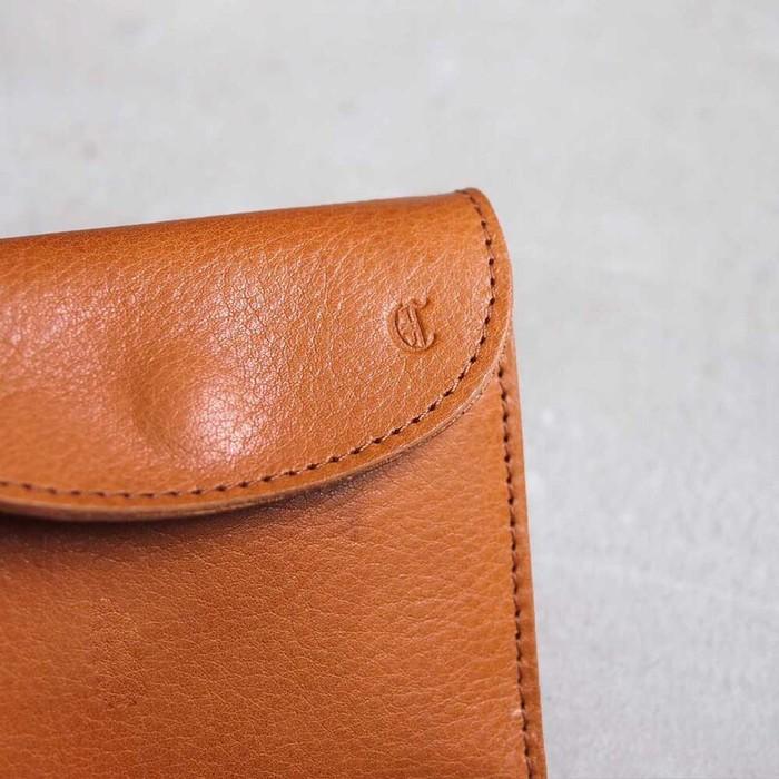 Cledran|日系質感手作 輕薄牛革短夾