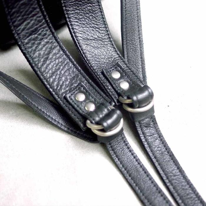 Creed |日系都會時尚 摔紋軟質牛革後背包