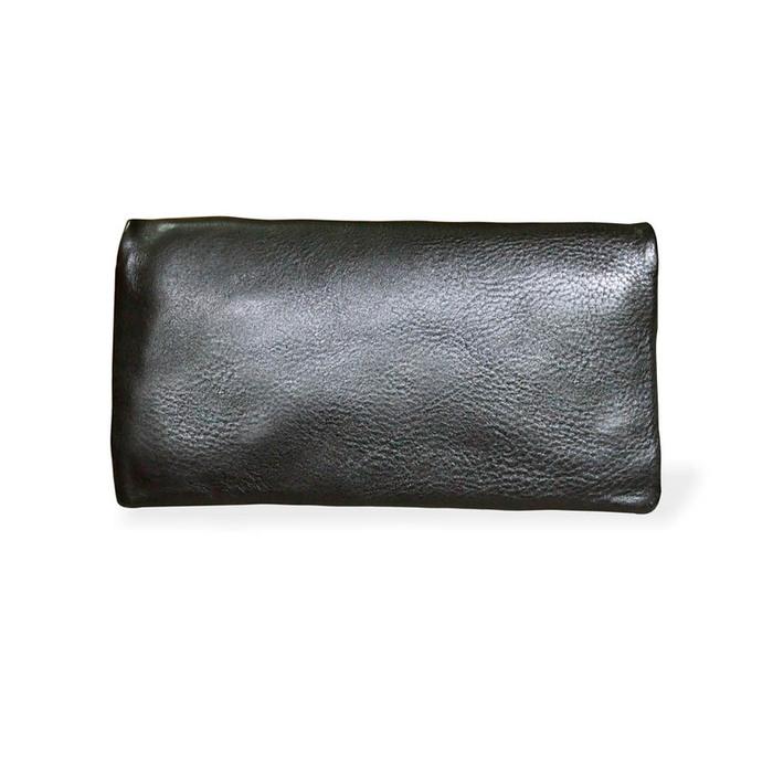 CLEDRAN|日系休閒 植鞣手工軟質牛革長夾