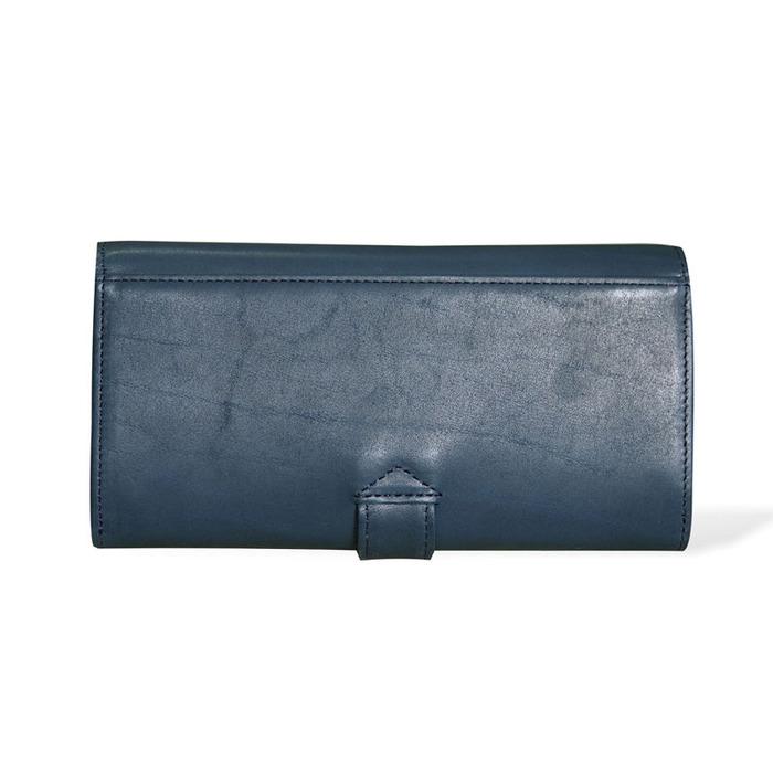 CLEDRAN|職人手工 日系半植鞣軟質牛革長財布