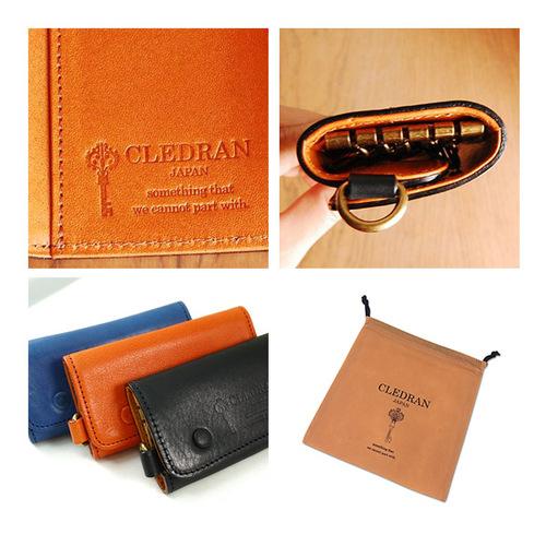 CLEDRAN|通勤時尚牛皮時尚鑰匙包