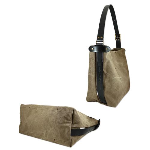 SUOLO|水洗帆布防潑水側背/手提兩用包