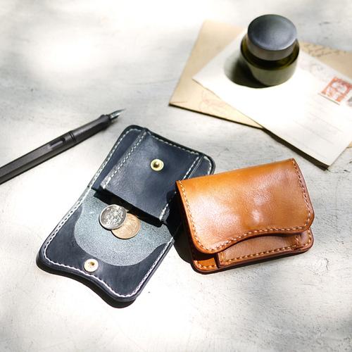 HANDIIN|日本職人系 牛皮口袋型零錢包
