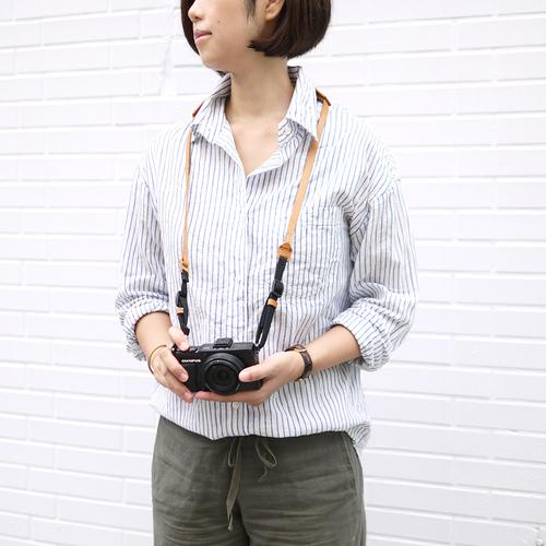 HANDIIN 手工製作 皮革復古相機背帶