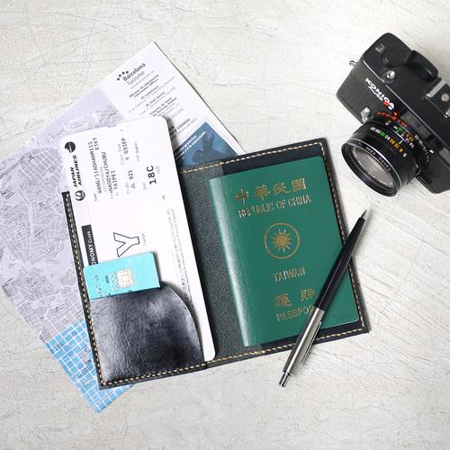 HANDIIN|日系手工真皮護照夾/套