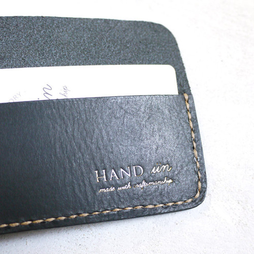 HANDIIN|職人款  牛皮隨身鈔票夾