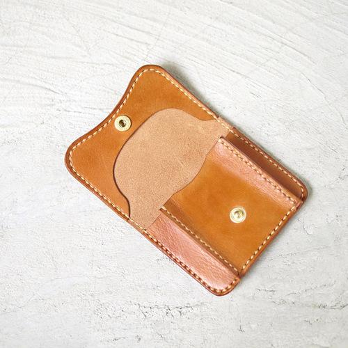 HANDIIN|職人系 牛皮口袋型零錢包