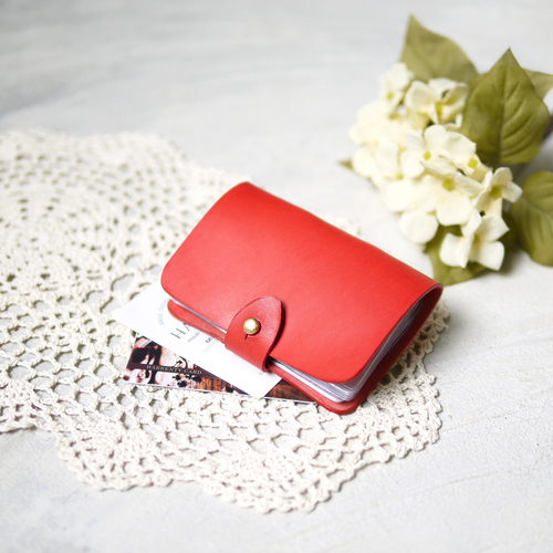 HANDIIN|日系文青 多層活頁釘扣式卡片夾