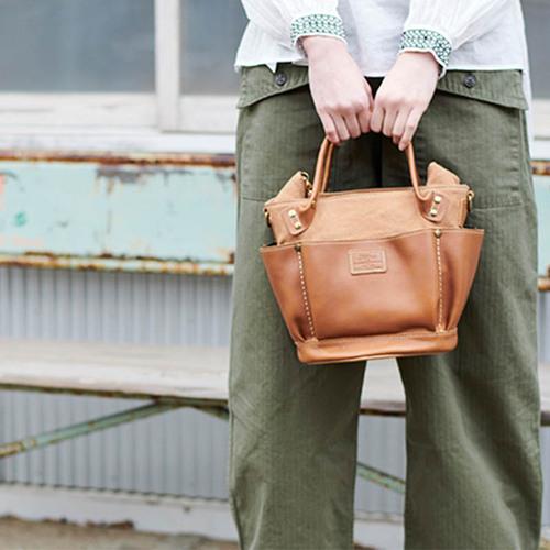 FOLNA|日系人氣款 休閒風肩背包手拿包
