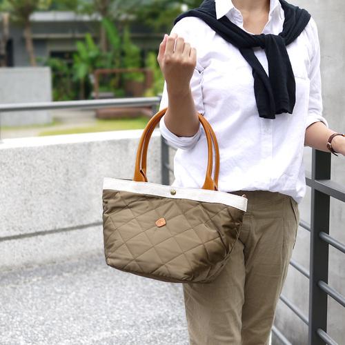 CLEDRAN 日本人氣款  輕量尼龍托特/手拿包