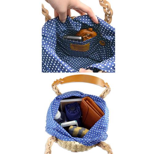 CLEDRAN|【絕版品限量優惠】田園鄉村風手提編織包 絕版品優惠