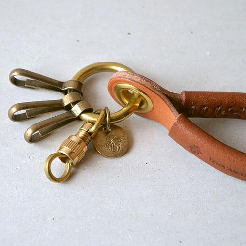 TEHA'AMANA|手工造型皮革鑰匙圈