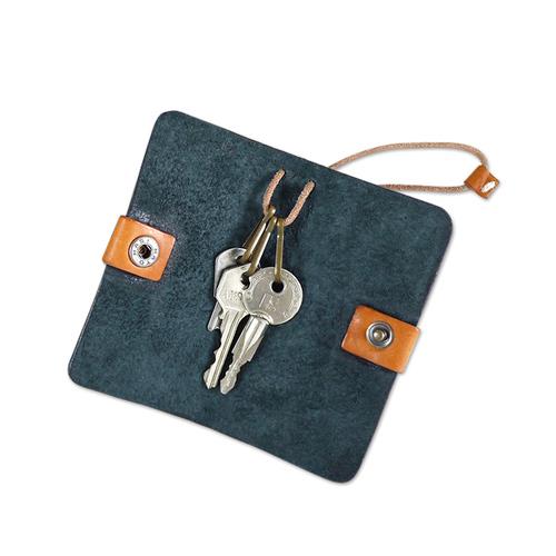 HANDIIN|日式時尚高質感牛皮鑰匙包