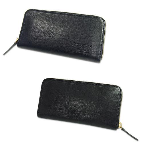 CLEDRAN|日本牛皮手工拉鍊長皮夾