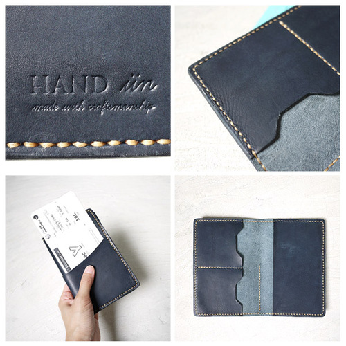 HANDIIN|經典旅程  植鞣手工牛皮革護照夾/護照套
