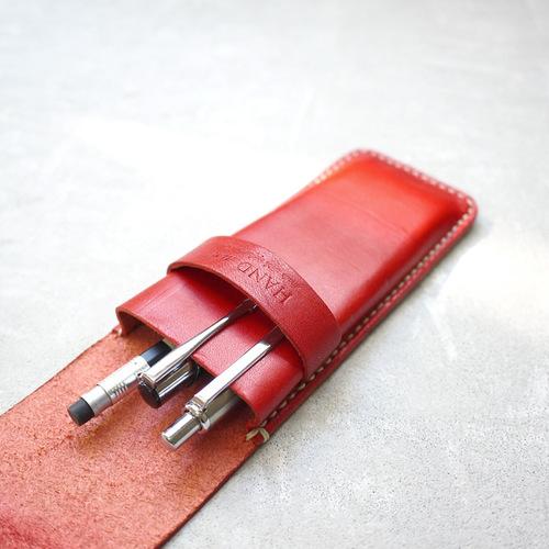 HANDIIN|設計款 職人推薦蠟線手縫多支入筆套(有上蓋)