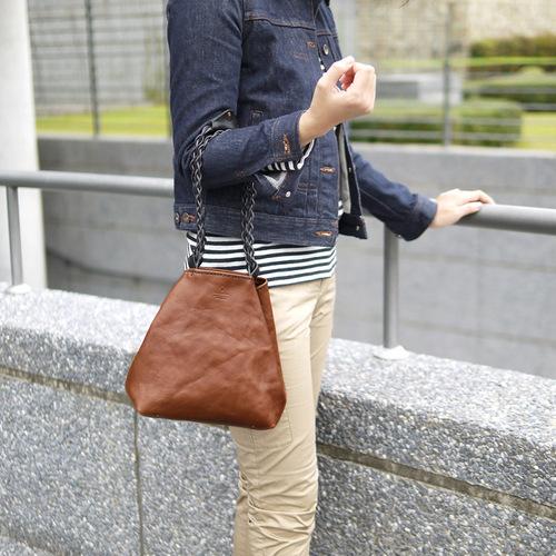 TEHA' AMANA|編織提把 植鞣皮革輕巧手提/側背包
