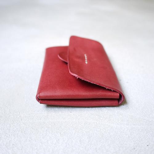 HANDIIN|復古簡約 雙層真皮壓扣式零錢/卡片包