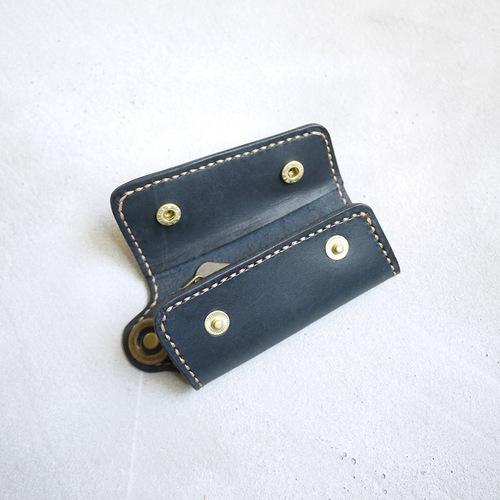 HANDIIN|手工真皮古銅環扣鑰匙收納包