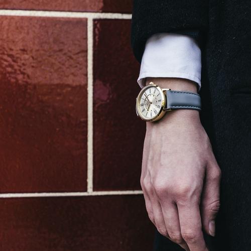 Camden Watch |純英國血統 復刻質感羅馬數字真皮腕錶