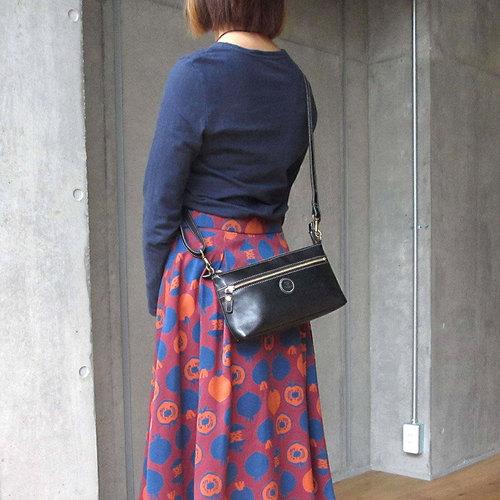 FOLNA|純手縫植鞣革  輕鬆隨身可愛肩背/側背包