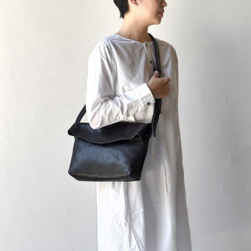 TEHA' AMANA|日系簡約 大人氣真皮折口斜背包