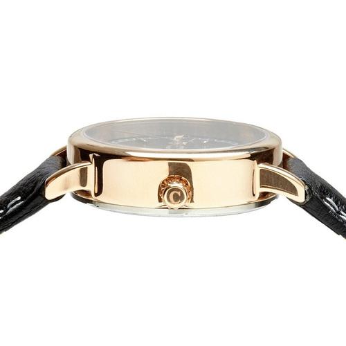 Camden Watch|NO24系列 純英國血統 玫瑰金時尚品味真皮腕錶