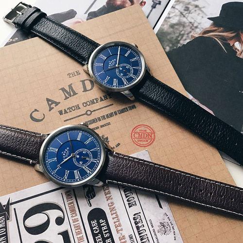 Camden Watch|NO29系列 純英國血統 單眼秒針紳士大錶盤真皮腕錶