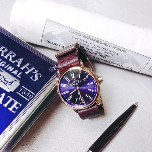 Camden Watch|NO88系列純英國血統 自我風格魅力真皮腕錶
