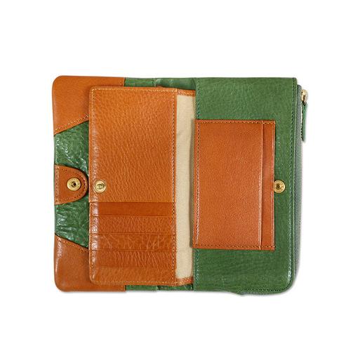 CLEDRAN|日系手工真皮經典款長皮夾