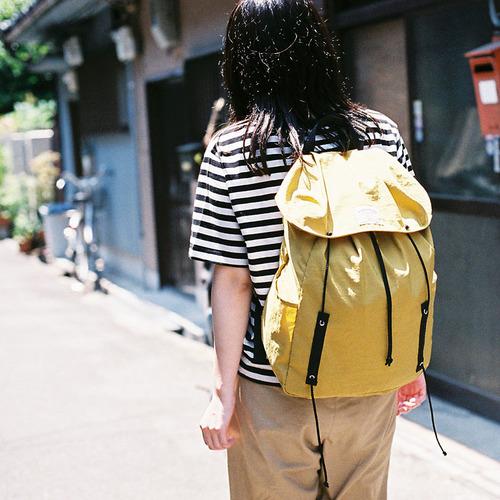 WONDER BAGGAGE|日本製微出走 日本超輕量機能防潑水尼龍後背包