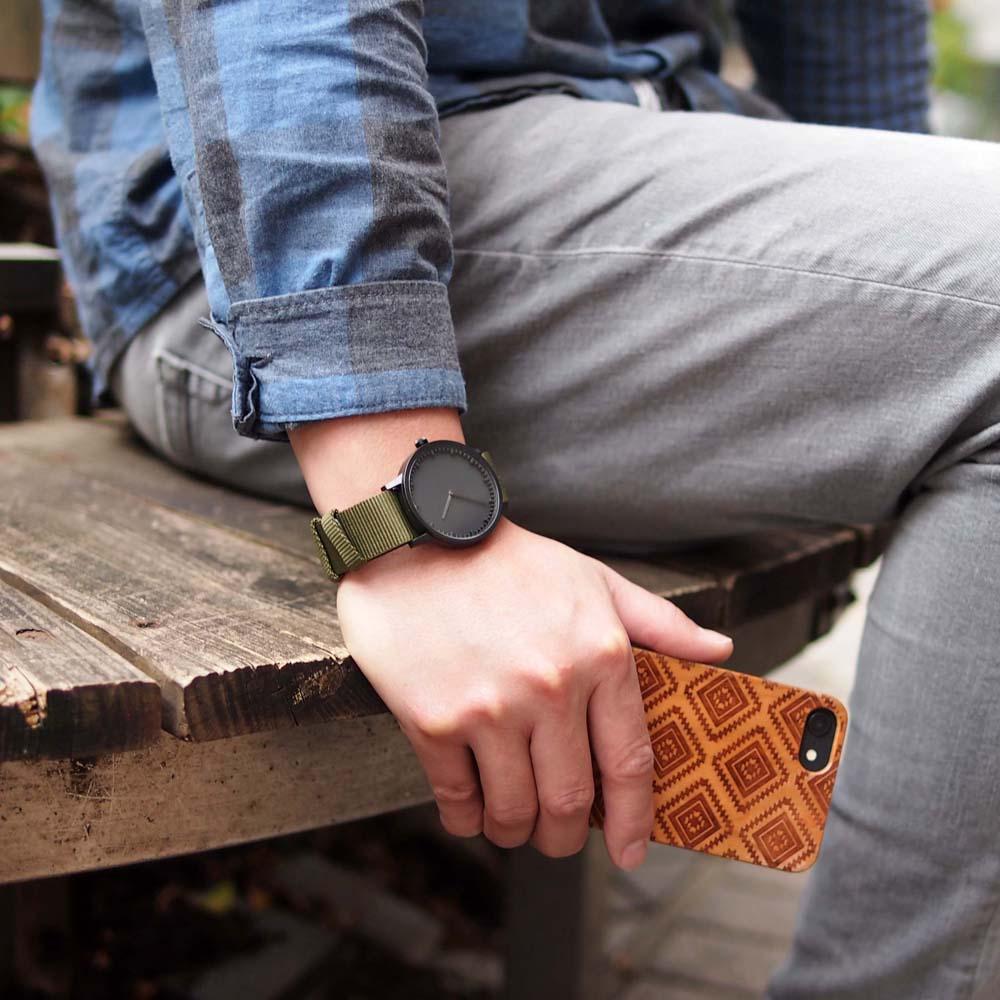 LEFF amsterdam 北歐工業齒輪設計腕錶 (40mm Nato Cordura尼龍錶帶)