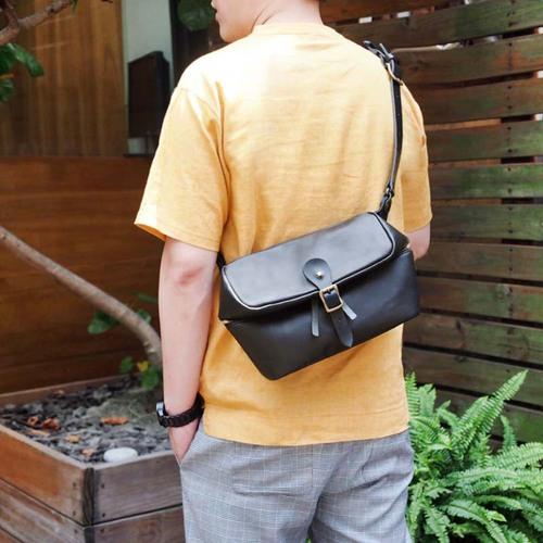 SUOLO 日本職人手作 個性側背/單車包