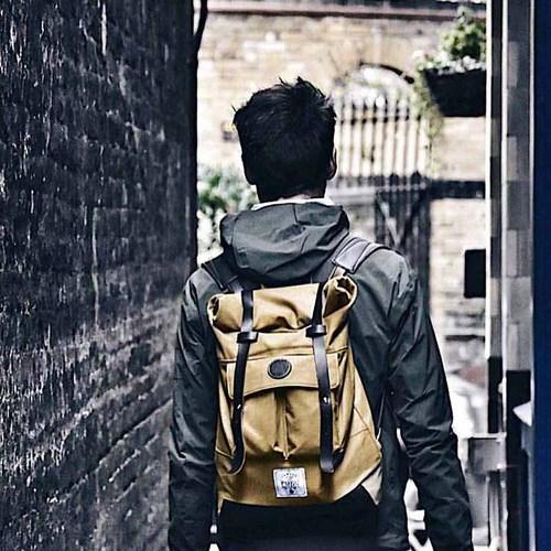 Camden Watch|英國復古 率性休閒石蠟帆布後背包