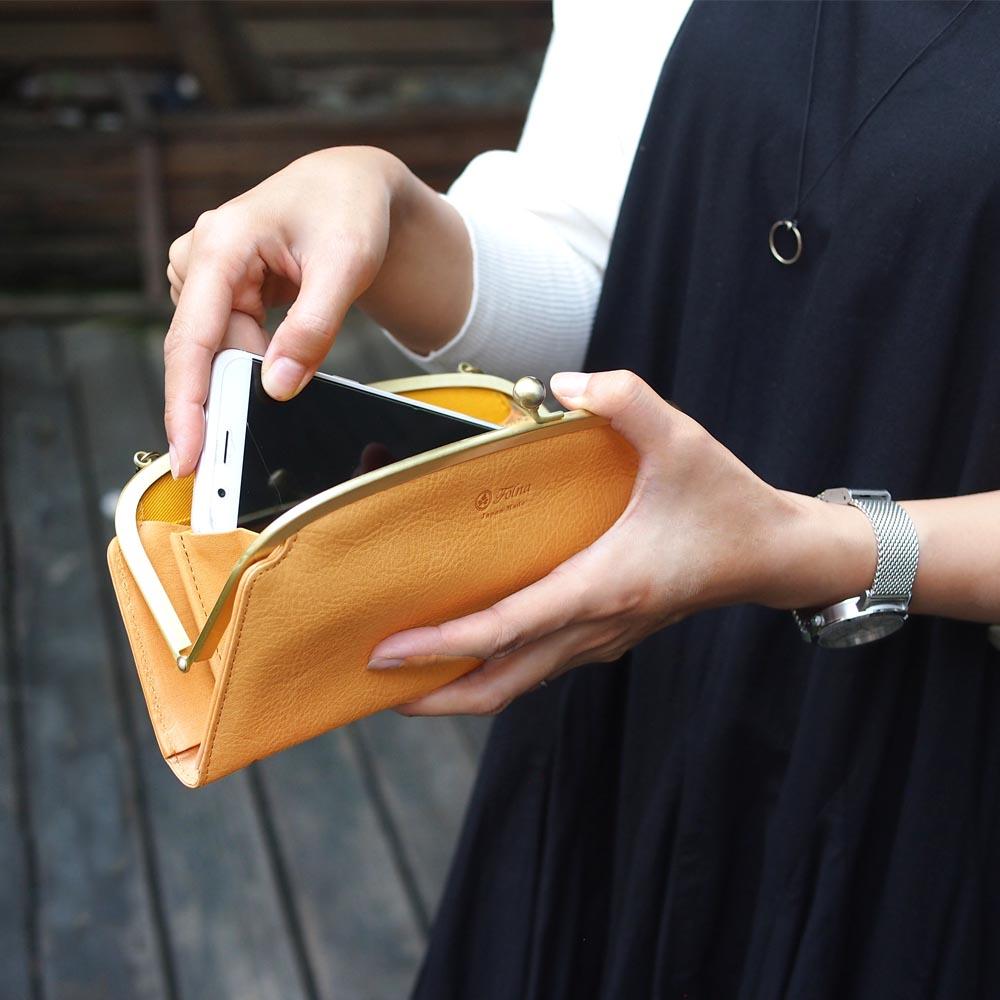 FOLNA|日系時尚典雅 都會兩用手拿/側背包