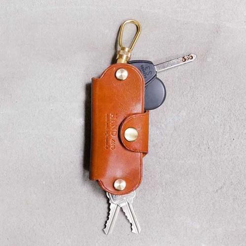 HANDIIN|日系手雅痞率性牛皮鑰匙包