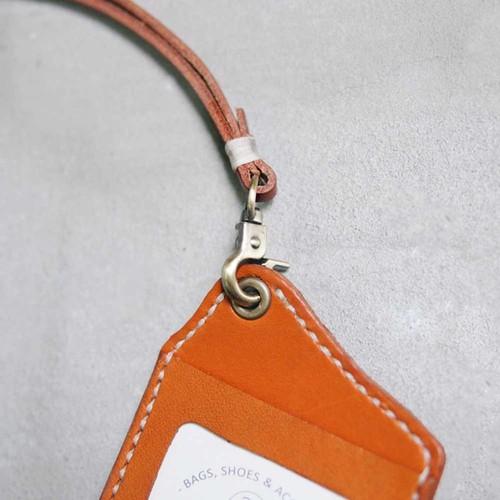 HANDIIN|日系手縫牛革直型兩用票夾 / 識別證