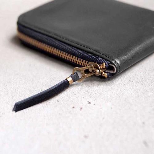 SLOW|俐落大人味日系口袋型拉鍊短夾