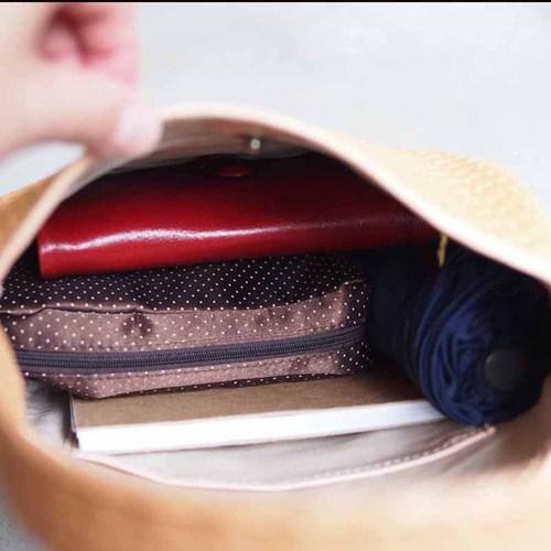 LESS DESIGN|日系柔美 牛革壓紋質感托特包/手拿包