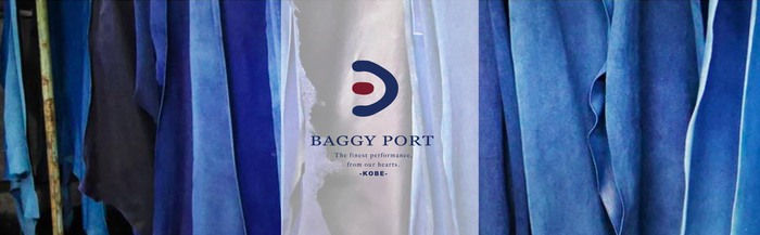 Baggy Port 日系高雅輕巧三折牛革珠扣短夾