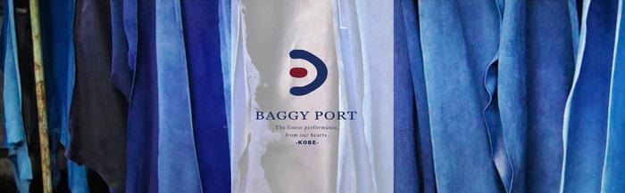 Baggy Port 都會雅痞義大利牛革L型多夾層拉鍊中長夾