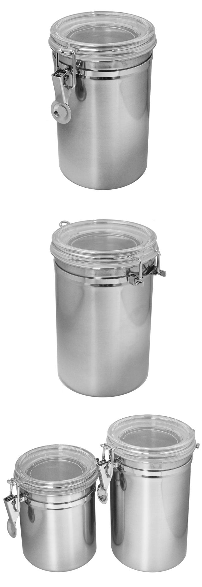 (複製)遠馸思創|台灣製 透明壓扣蓋不鏽鋼密封罐 (M 850mL)