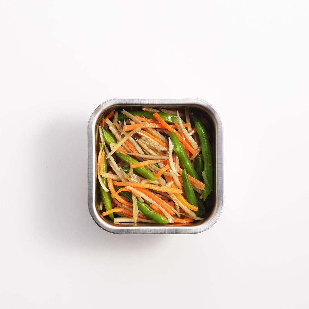 遠馸思創|日本製透明蓋不鏽鋼方形保鮮盒 (XS)