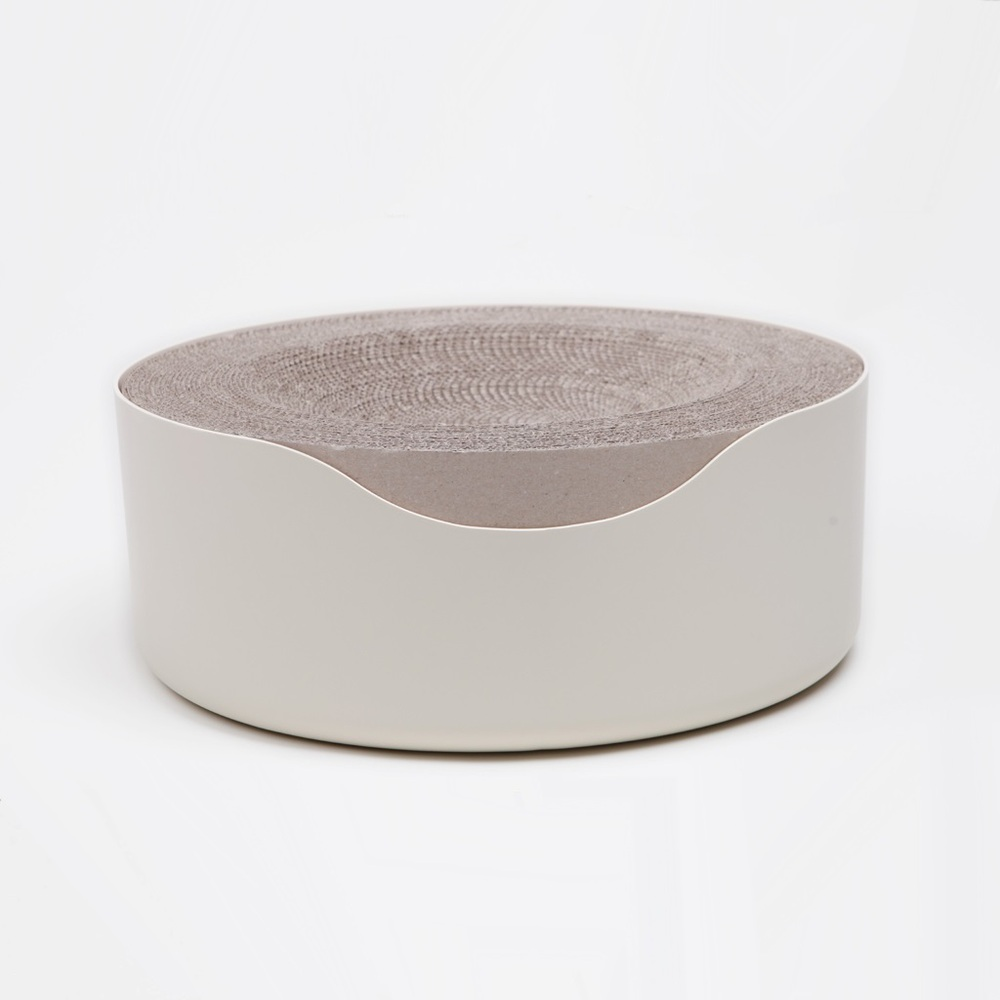 KOGONGCAT|冥想貓床-多功能貓床(象牙白)