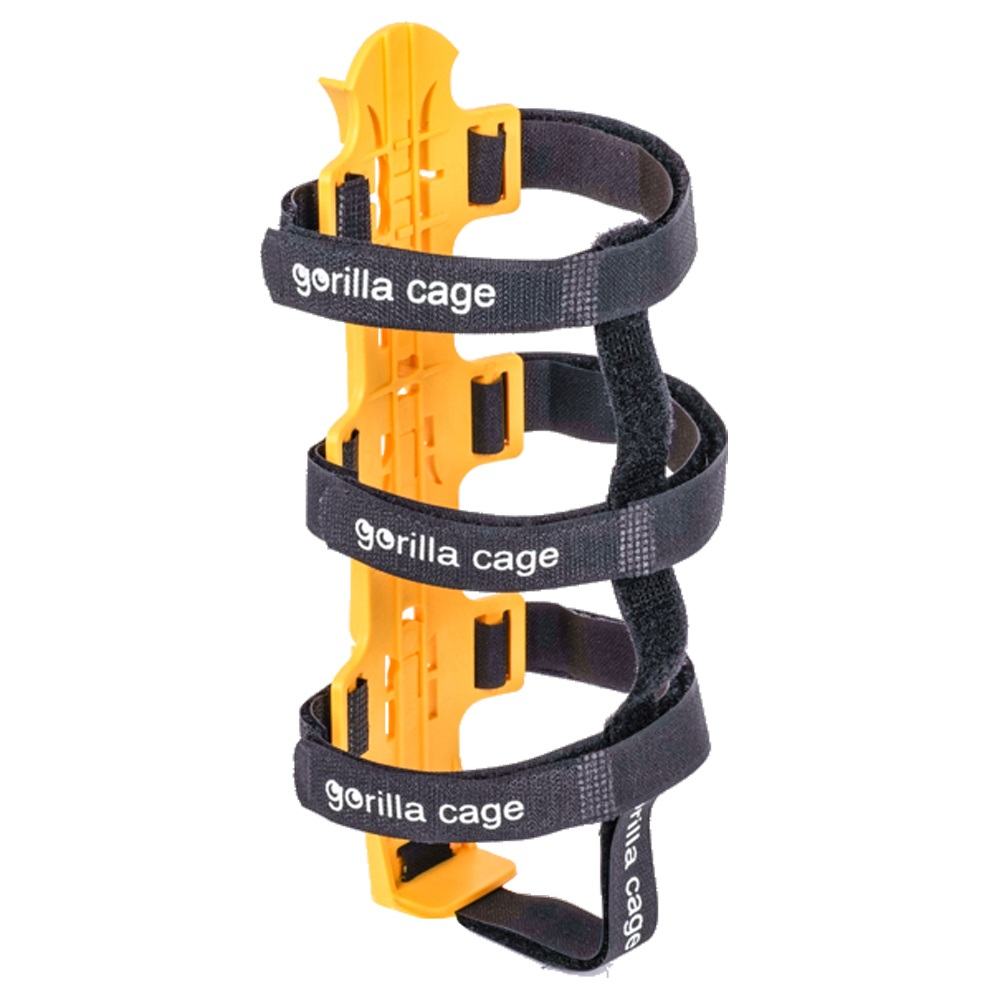 dom|巨猩籠: 萬用大型單車水壺架 gorilla cage (橘色)
