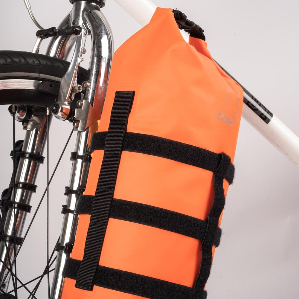 dom|巨猩包: 5.5 L 單車防水包 gorilla bag (橘色)